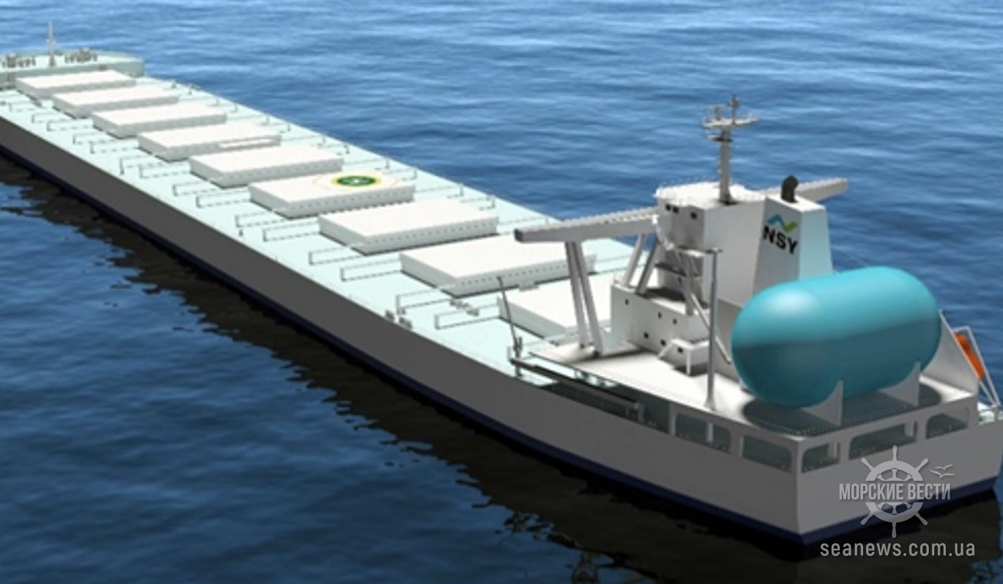 MOL подписал контракты на строительство и тайм-чартер нового судна