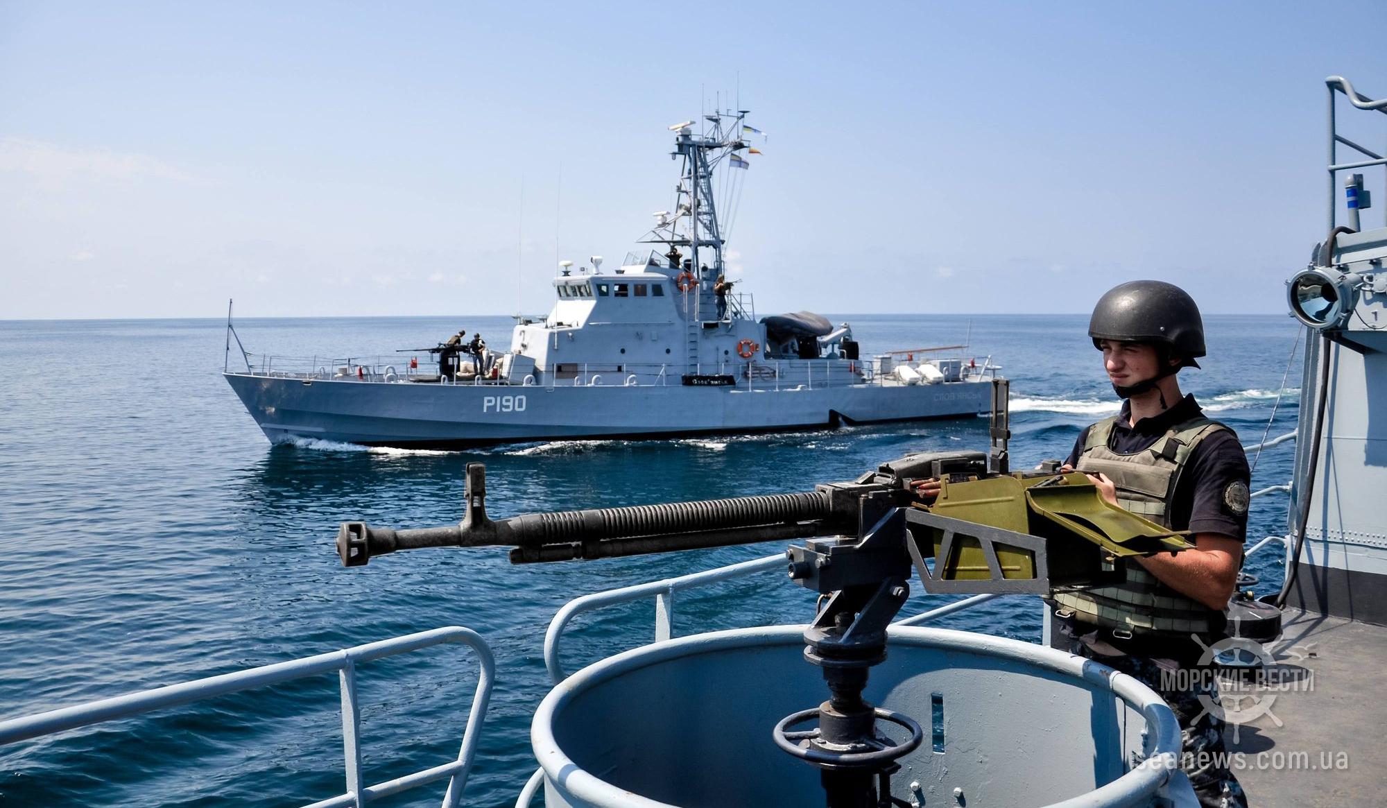 ВМС Украины будут участвовать в многонациональных военных учениях в Грузии