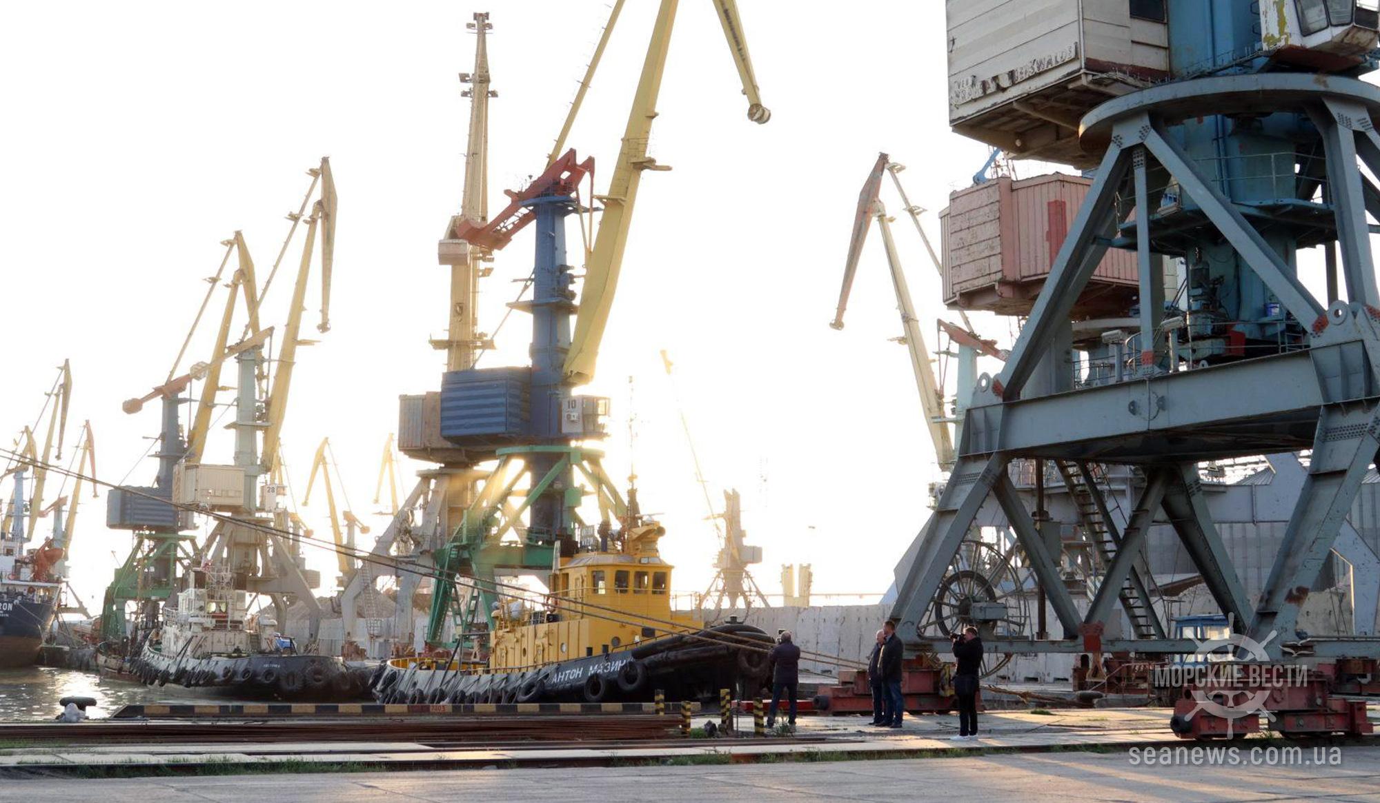 Бердянский порт в первом полугодии сократил грузооборот