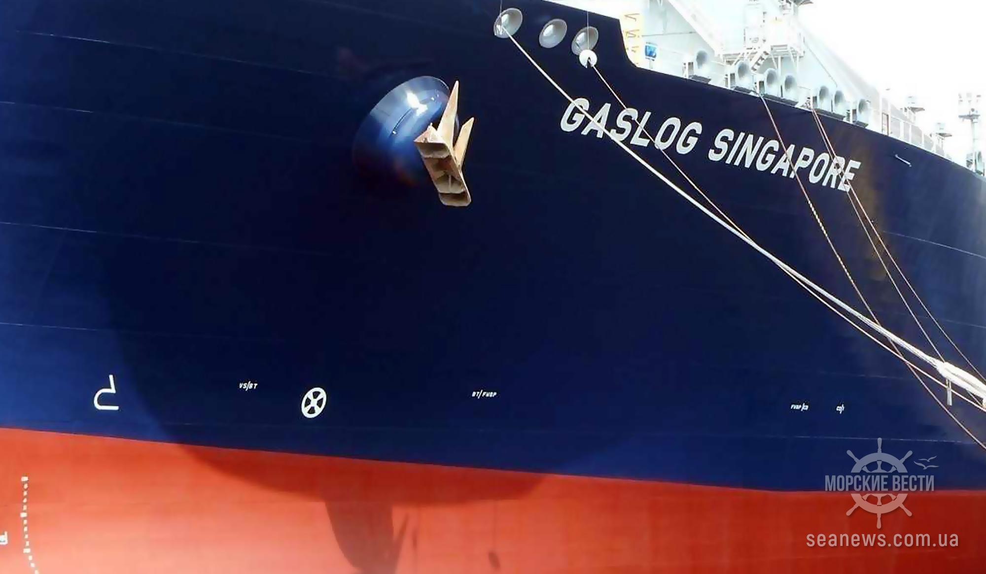Греческий оператор танкеров завершил переоборудование газовоза в плавучую систему для хранения СПГ