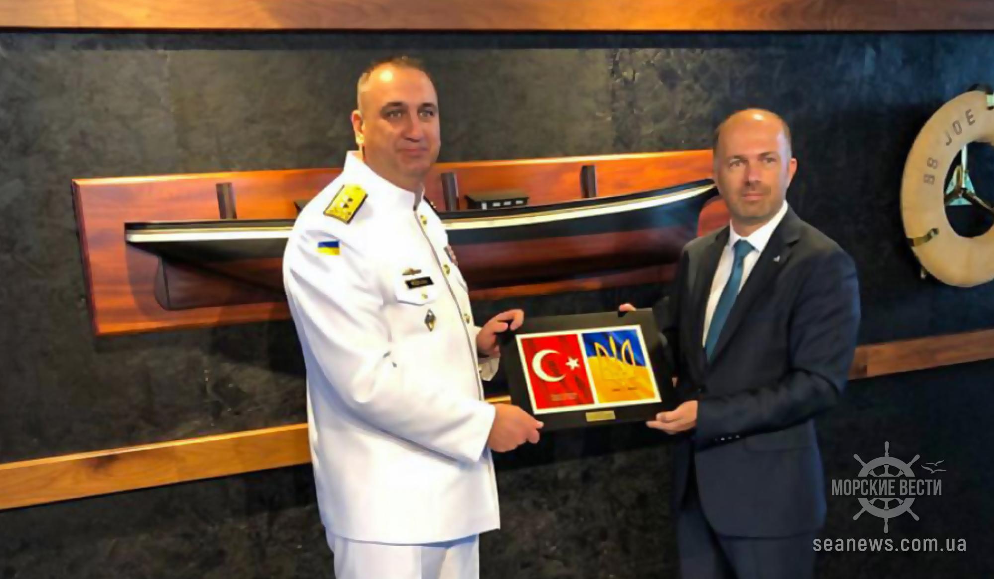 В Стамбуле торжественно заложили корпус первого украинского корвета типа ADA