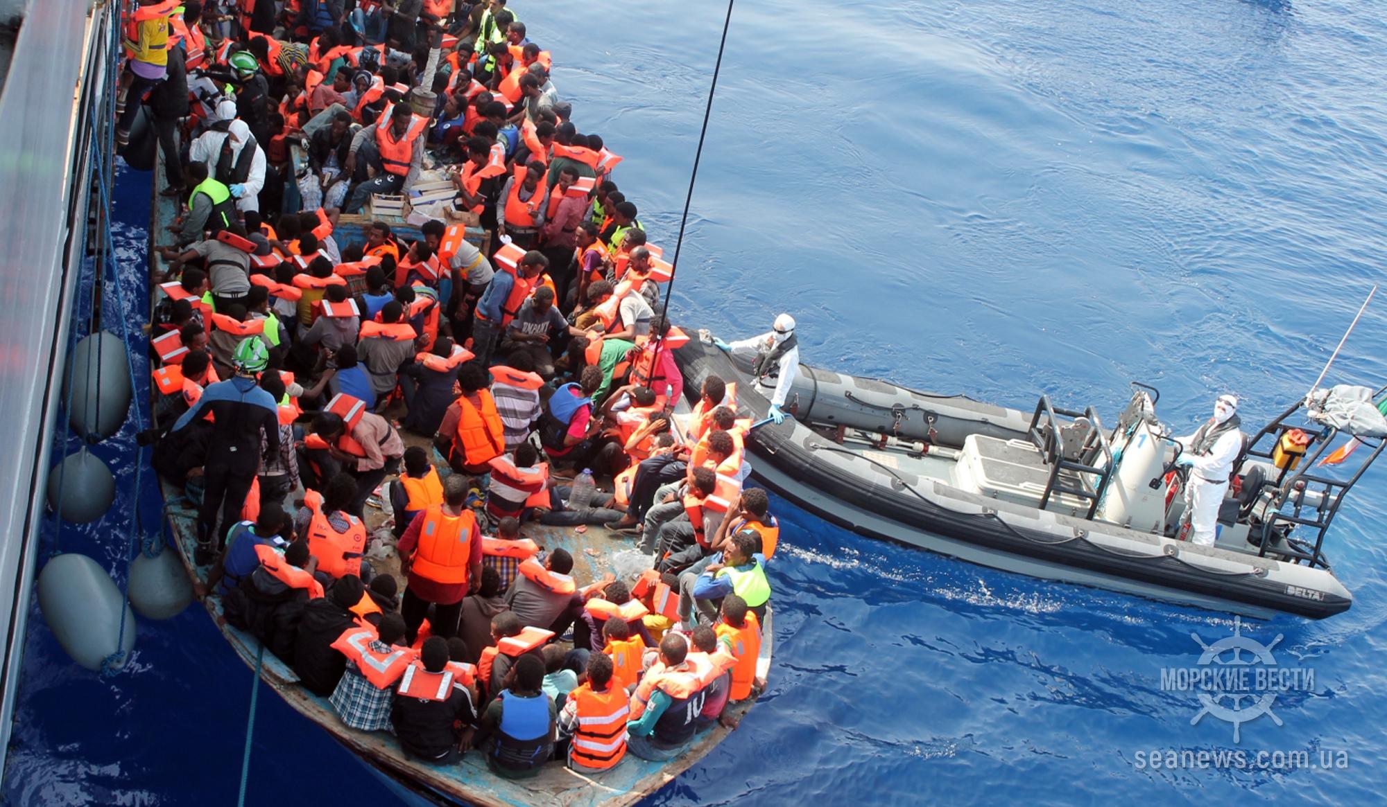 Как украинских моряков заставляли перевозить нелегальных мигрантов