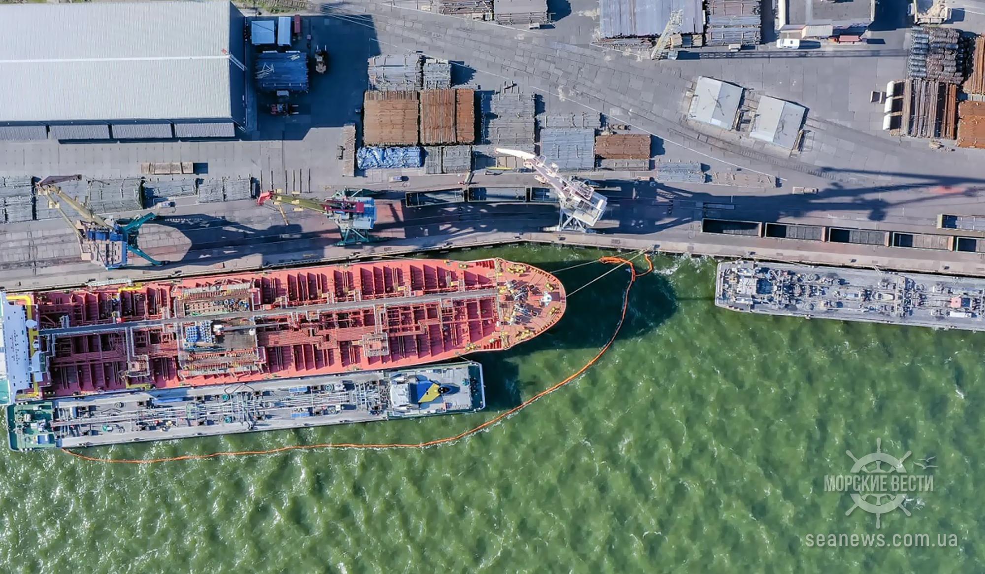 Перевалка масла сократилась во всех украинских портах, кроме Одесского