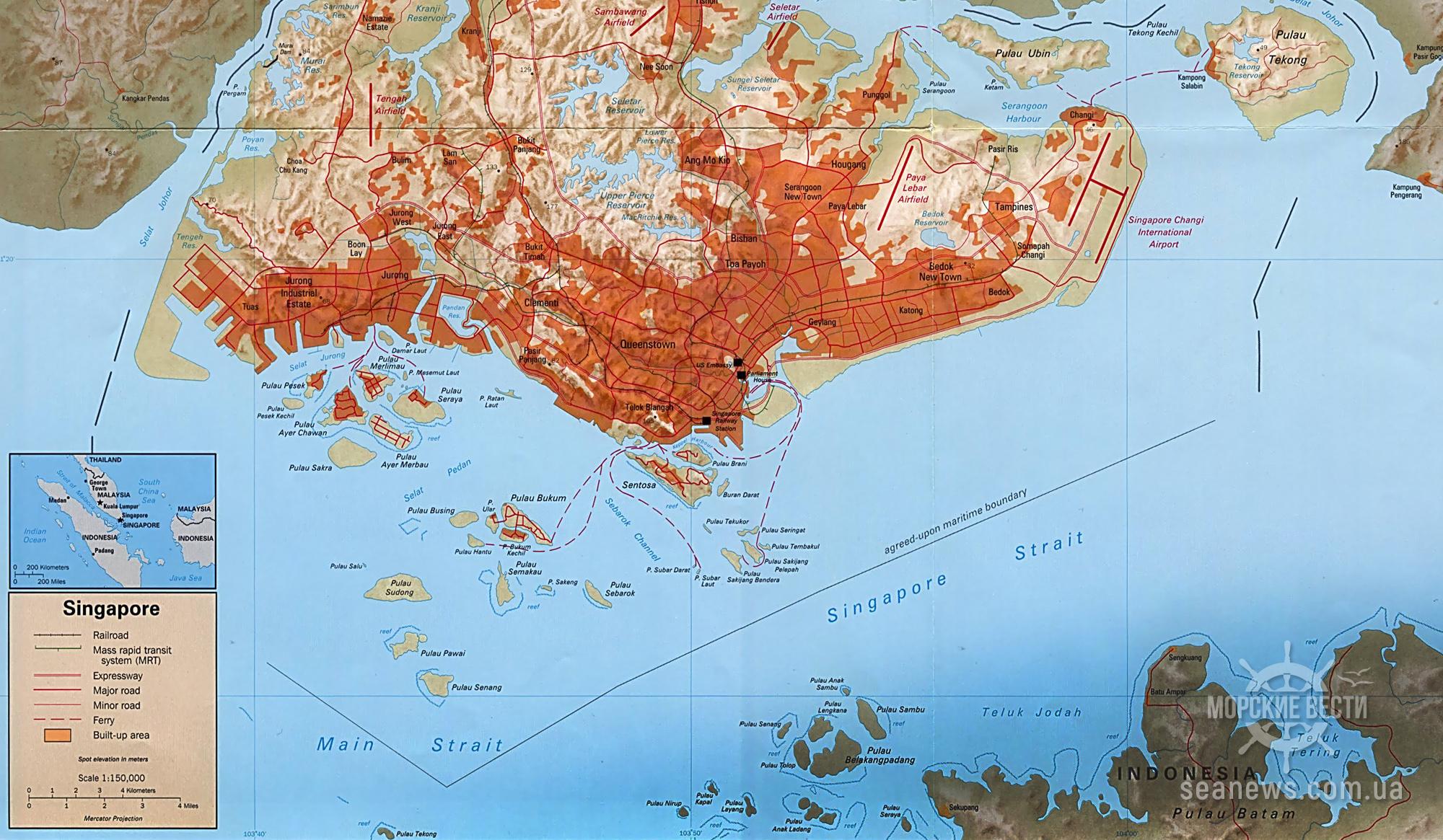В Сингапурском проливе в 2021 году зарегистрировано 26 инцидентов